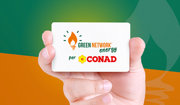 green network energy per conad