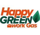 Happy Green Work Gas