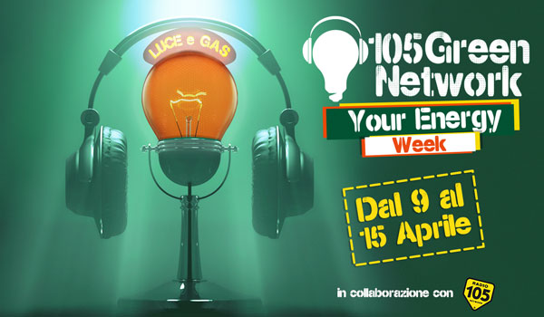 radio 105 e green network energy