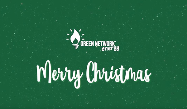 Buon Natale da Green Network Energy - Live, Love, Be Green