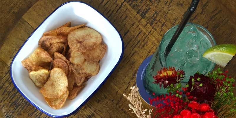 ricetta chips patate bucce